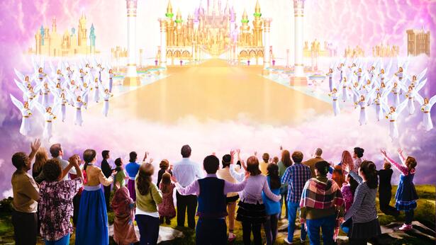 O reino dos céus realmente está na terra