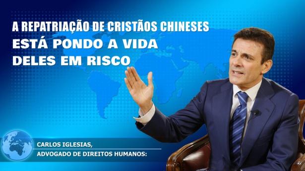 Notícias: Carlos Iglesias: A repatriação de cristãos chineses está pondo a vida deles em risco