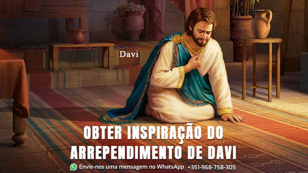 o arrependimento de Davi